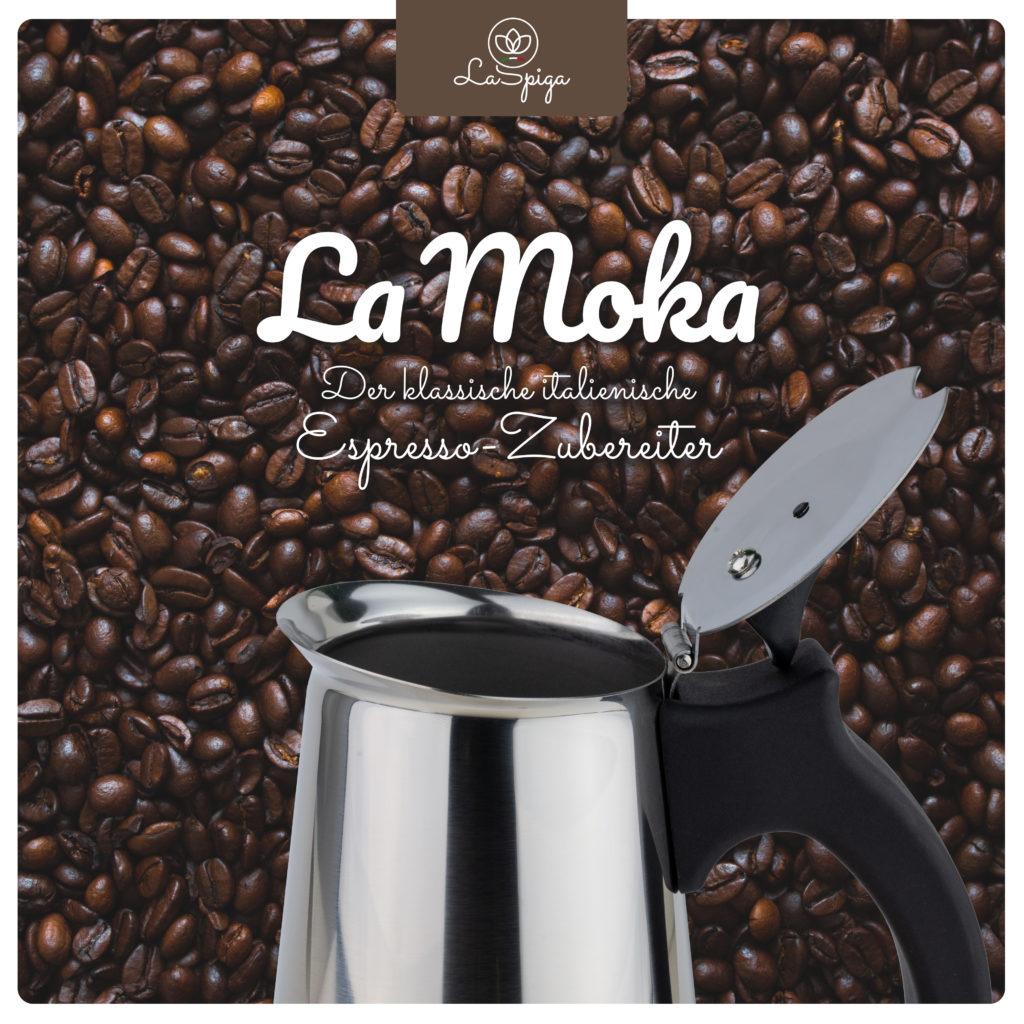 La Moka von La Spiga Espressokocher YUNIQ eCommerce